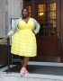 wow london plussize style yellow dress
