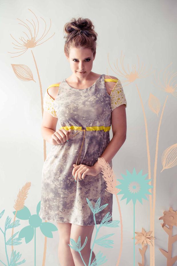 Nachwuchs Modedesign mable kleid