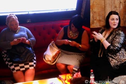 XXL Fashion Blogger bei der Arbeit