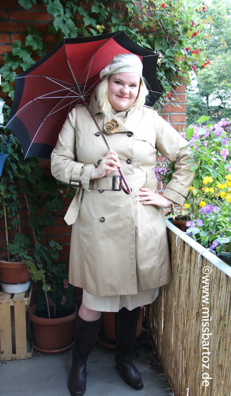 Trenchcoat Plus Size