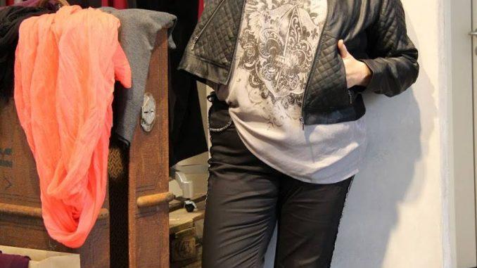 Jacken für große Größen Bikerjacke