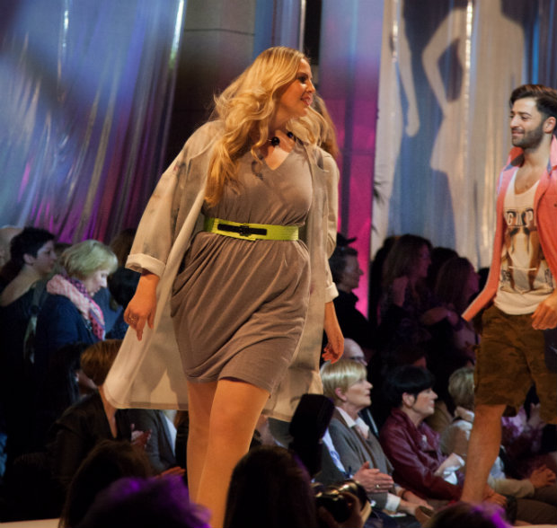 Bruce Darnell Plus Size Model Kristina Diener