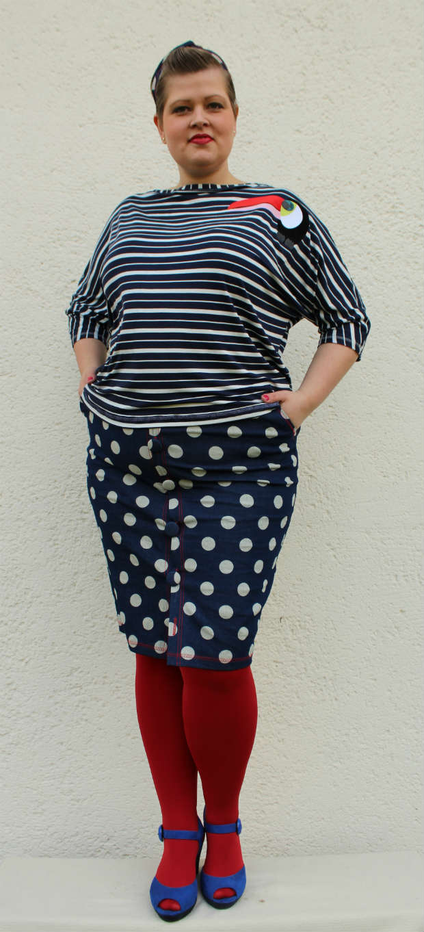 Hello Spriing Plus size Outfit april