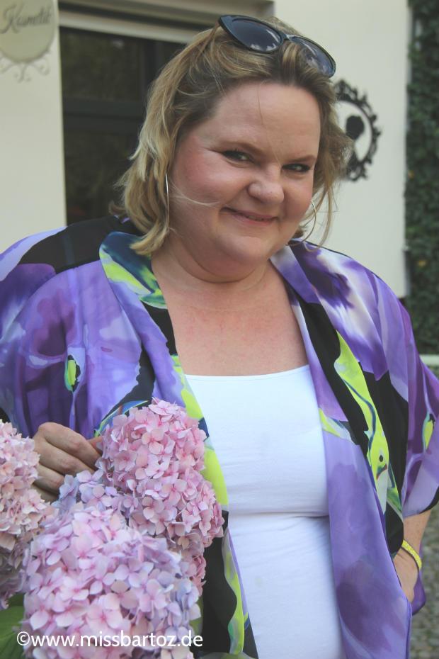 Kimono Hortensien
