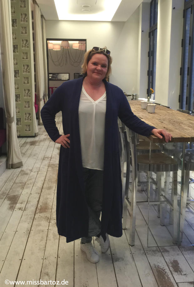 Longcardigan strickmantel plus size
