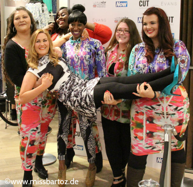 Muster all over Streetstyle london plussize