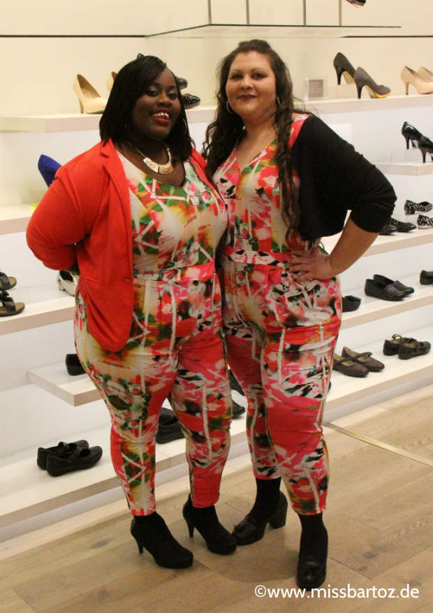 Mustermix all over Streetyle Plussize london