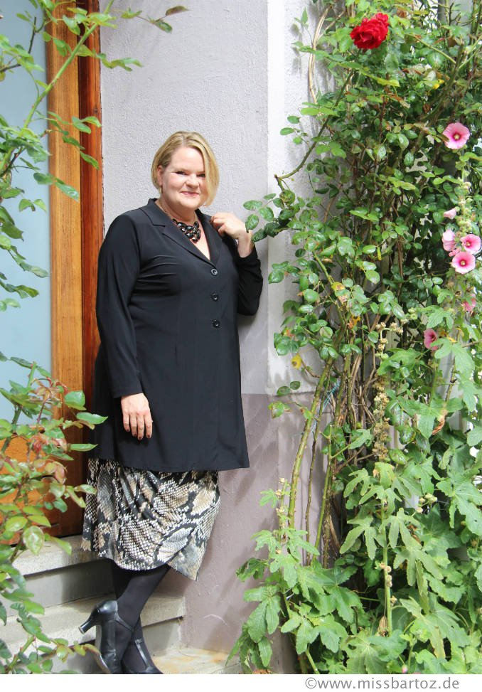 Plus Size outfit Rock drei kombinationen