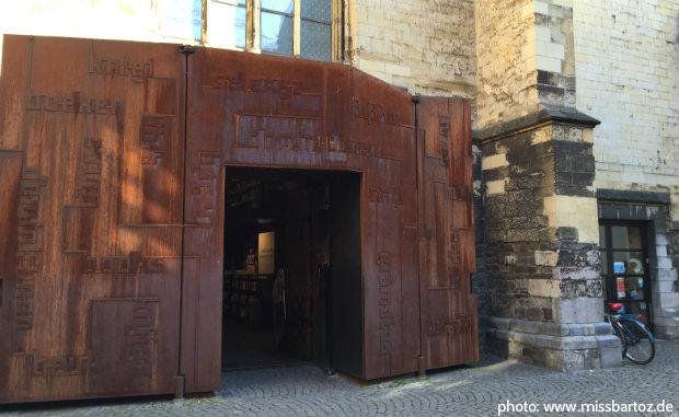 boekhandel dominicanen Maastricht Eingang