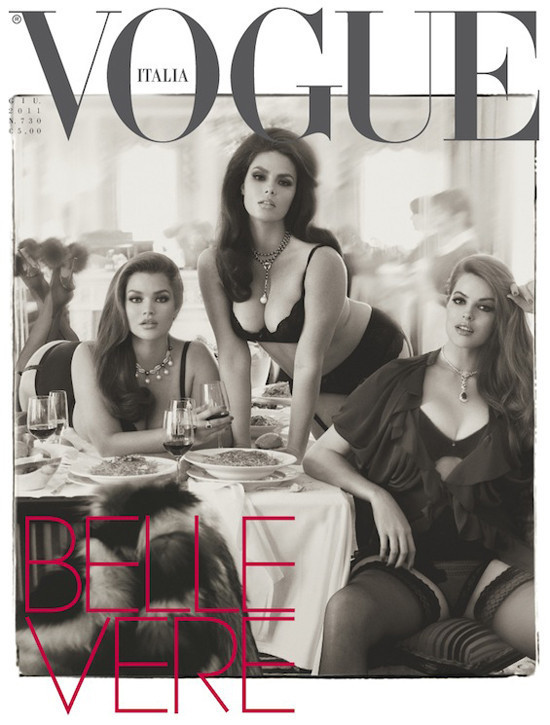 Top 5 Plus Size Models Vogue Italia 2