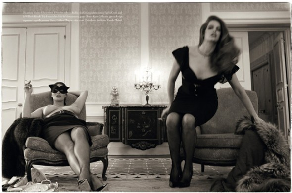 Top 5 Plus Size Models vogue Italia