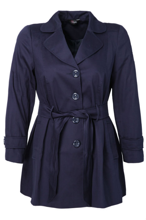 Trenchcoat Plus Size Yoursclothing