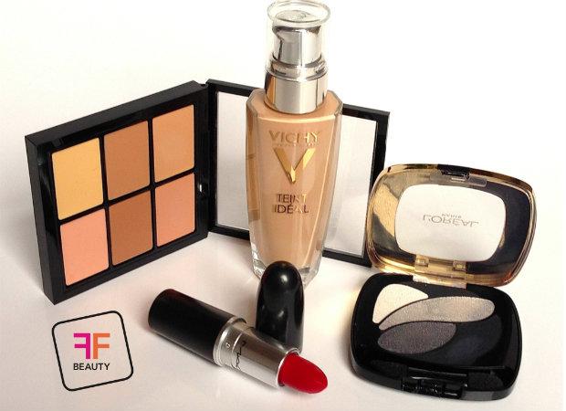 Tutorial Abend Make-up produkte