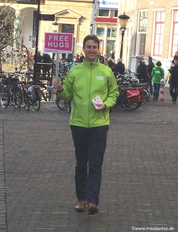 Utrecht free hughs