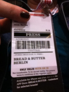 Bread and Butter Presse