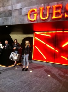 Guess auf der Bread and Butter