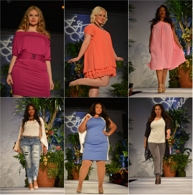 plus size fashion show new york 2015