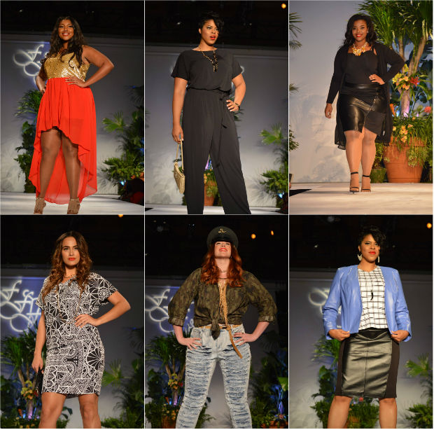 plus size full figured fashion week 2015 new york